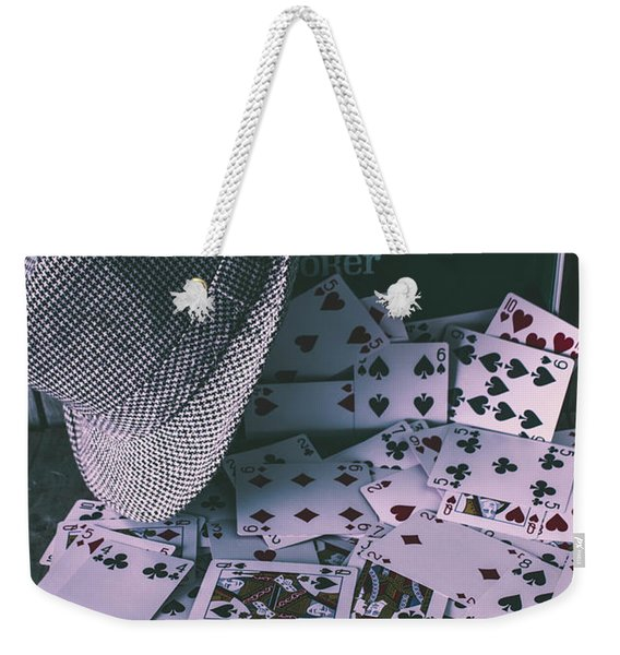 Case Of A Gambling Pro  Weekender Tote Bag