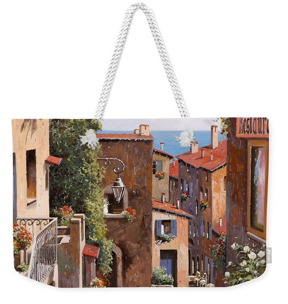 casette a Cagnes Weekender Tote Bag