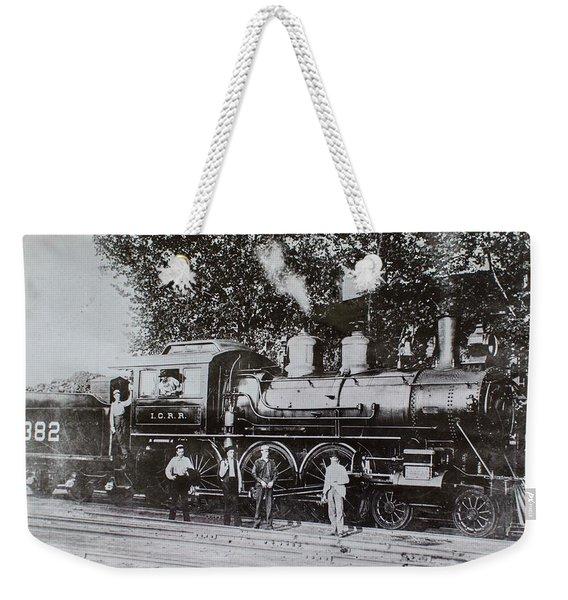 Casey Jones Engine  Weekender Tote Bag