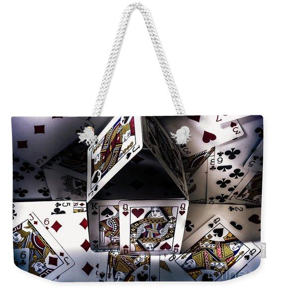 Casino House Weekender Tote Bag
