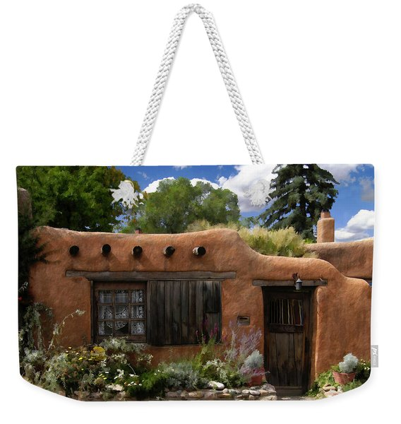 Casita De Santa Fe Weekender Tote Bag