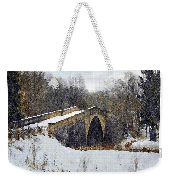 Casselman River Bridge Weekender Tote Bag