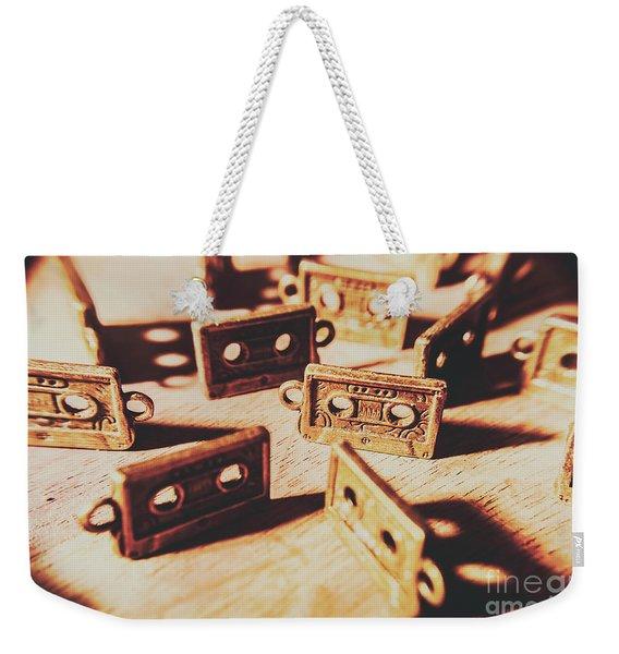 Cassette Club Dance Weekender Tote Bag