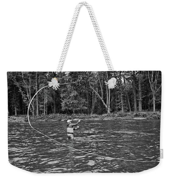 Casting Weekender Tote Bag