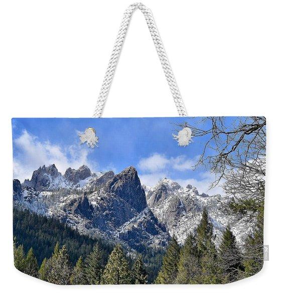 Castle Crags Weekender Tote Bag