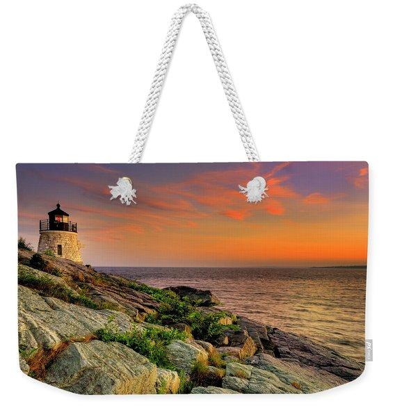 Castle Hill Lighthouse - Newport Rhode Island Weekender Tote Bag
