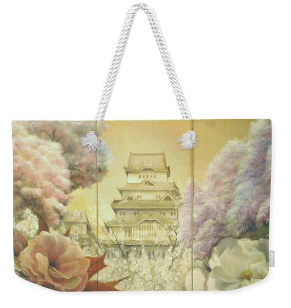 Castle Himeji - Sakura Weekender Tote Bag