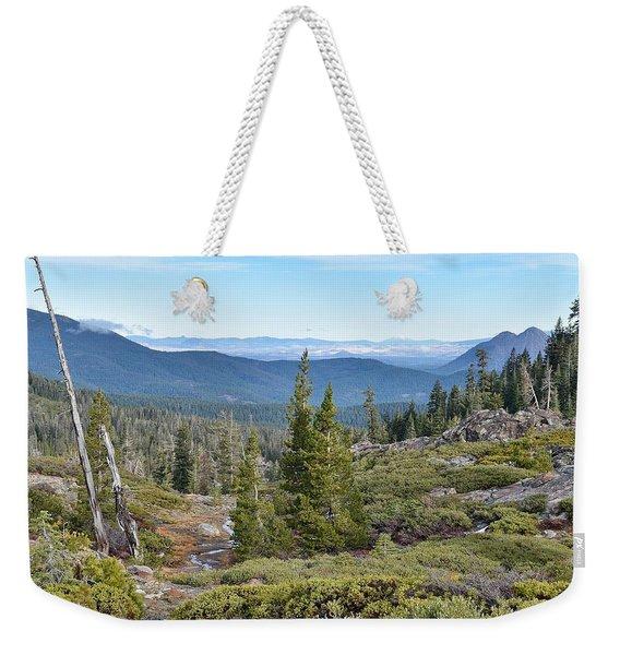 Castle Lake Trail Weekender Tote Bag