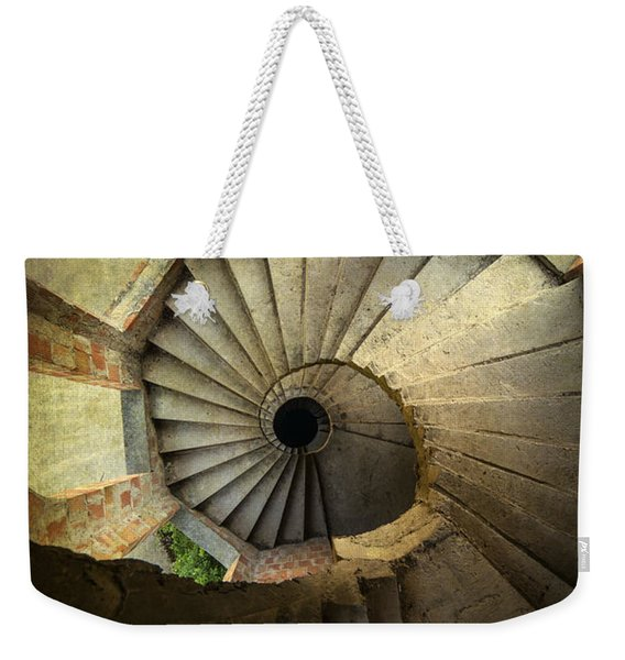 Weekender Tote Bag featuring the photograph Castle Of Unfinished Dreams by Jaroslaw Blaminsky