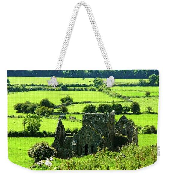 Castle Ruins Countryside Weekender Tote Bag