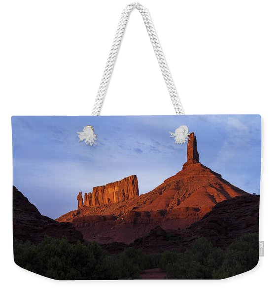 Castle Towers Weekender Tote Bag