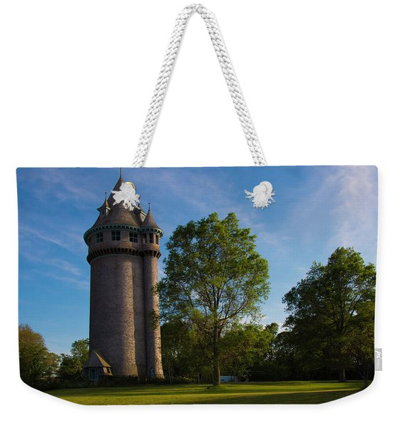 Castle Turret On The Green Weekender Tote Bag