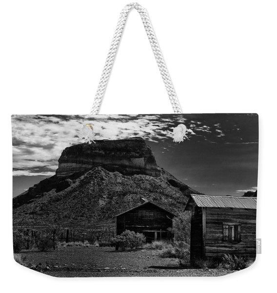 Castolon Ghost Town Weekender Tote Bag