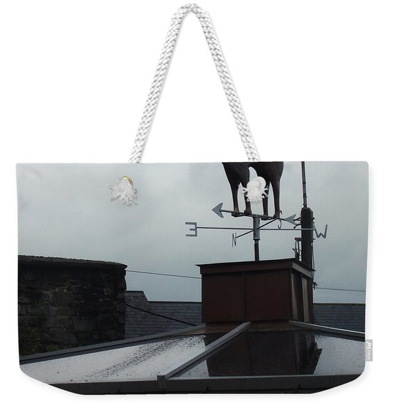Cat On A Cool Tin Roof Weekender Tote Bag