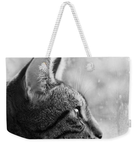 November Rain Weekender Tote Bag
