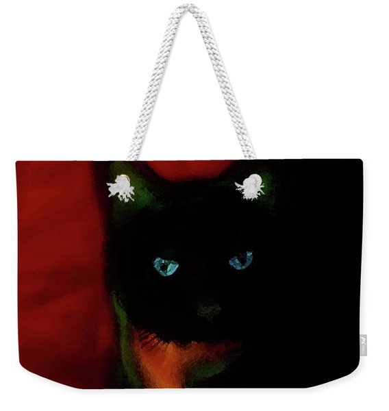 Cat Tiny You Painting Weekender Tote Bag