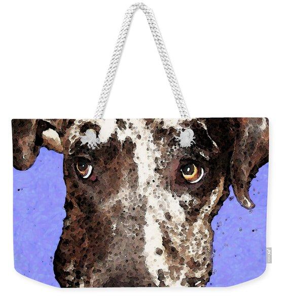 Catahoula Leopard Dog - Soulful Eyes Weekender Tote Bag