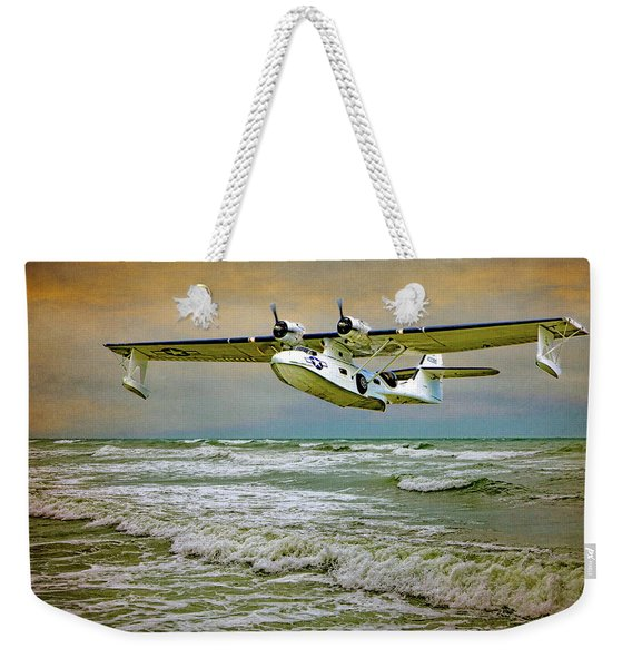 Catalina Flying Boat Weekender Tote Bag