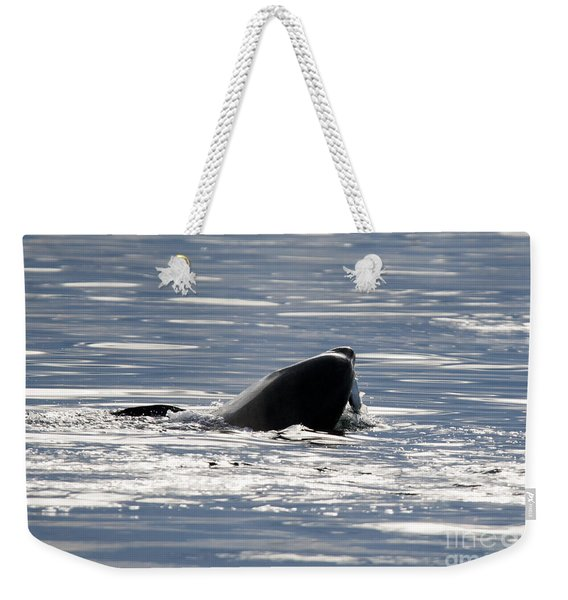 Catching Dinner Weekender Tote Bag