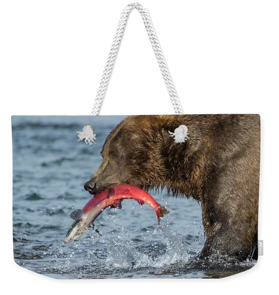 Catching The Prize Weekender Tote Bag
