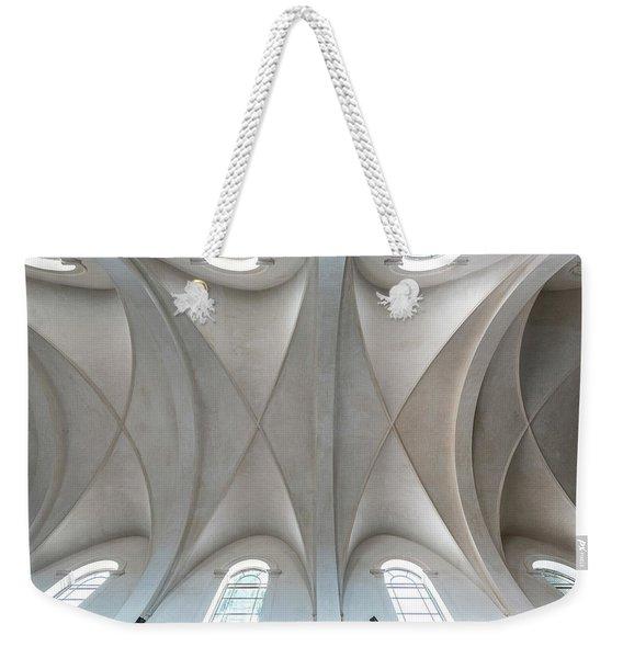 Catedral De La Purisima Concepcion Ceiling Weekender Tote Bag