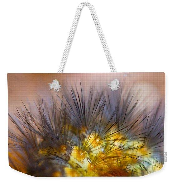 Caterpillar Hair Weekender Tote Bag