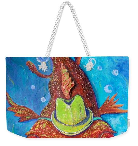 Catfish Clyde Weekender Tote Bag