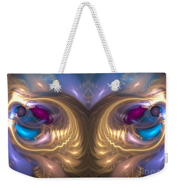Catharsis - Abstract Art Weekender Tote Bag