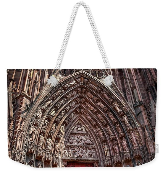 Cathedral Entance Weekender Tote Bag