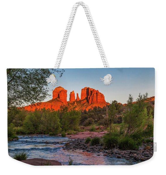 Cathedral Rock At Red Rock Crossing Weekender Tote Bag