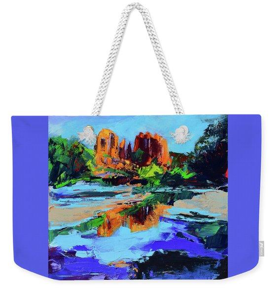 Cathedral Rock - Sedona Weekender Tote Bag