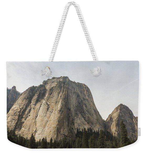 Cathedral Spires Yosemite Valley Yosemite National Park Weekender Tote Bag