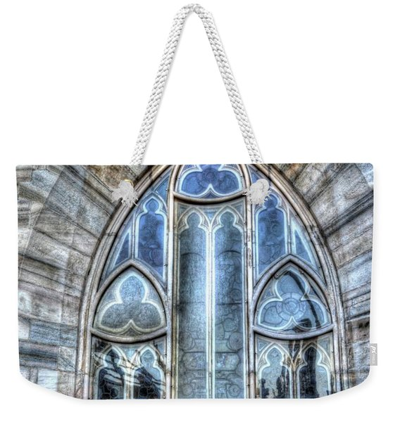Cathedral Window Milan Weekender Tote Bag