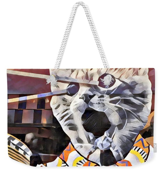 Cats On Congress Weekender Tote Bag