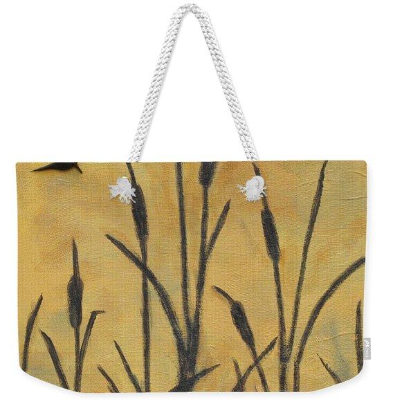 Cattails I Weekender Tote Bag