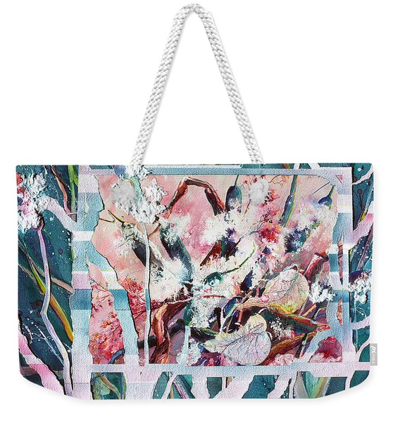 Cattails Six Weekender Tote Bag