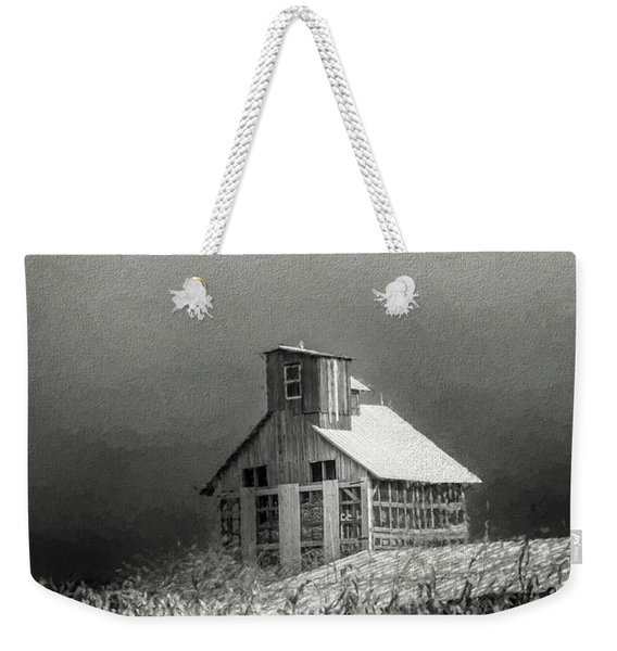Cattle Feed For The Winter Weekender Tote Bag