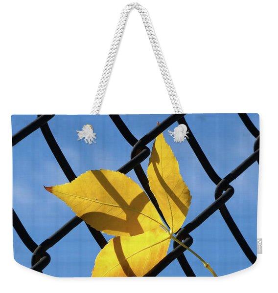 Caught Weekender Tote Bag