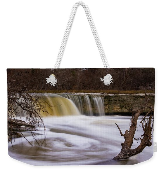 Caught In A Spin Weekender Tote Bag