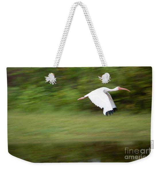 Caught In Flite Weekender Tote Bag