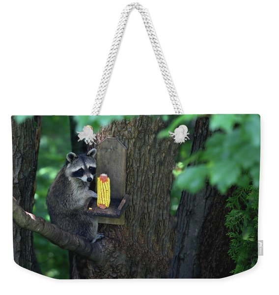 Caught In The Act Weekender Tote Bag