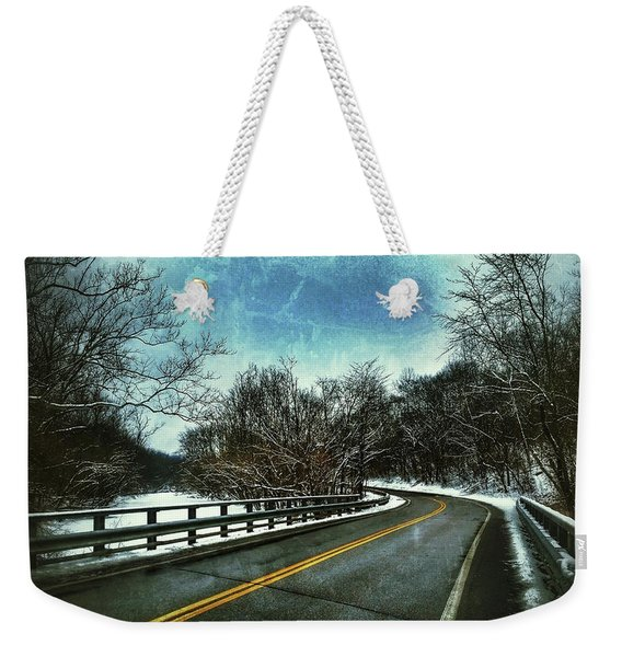 Caution Two Weekender Tote Bag