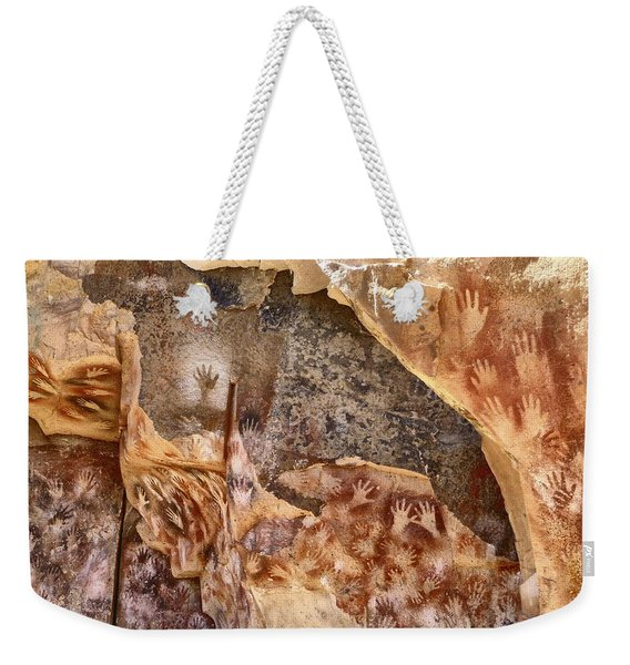 Cave Of The Hands Patagonia Argentina Weekender Tote Bag