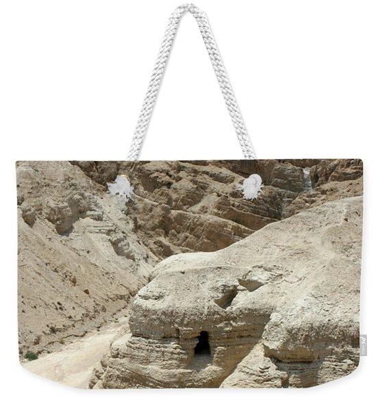 Caves Of The Dead Sea Scrolls Weekender Tote Bag