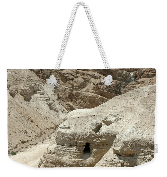 Caves Of The Dead Sea Scrolls Weekender Tote Bag