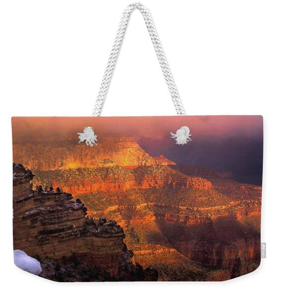 Canyon Dawn Weekender Tote Bag