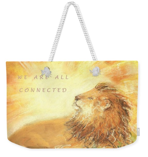 Cecil The Lion Weekender Tote Bag