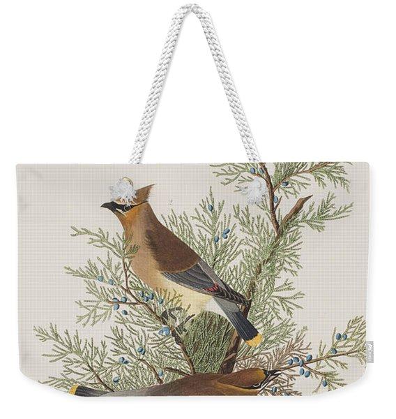 Cedar Bird Weekender Tote Bag