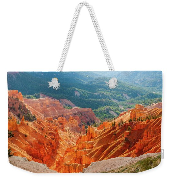 Cedar Breaks Amphitheater Weekender Tote Bag