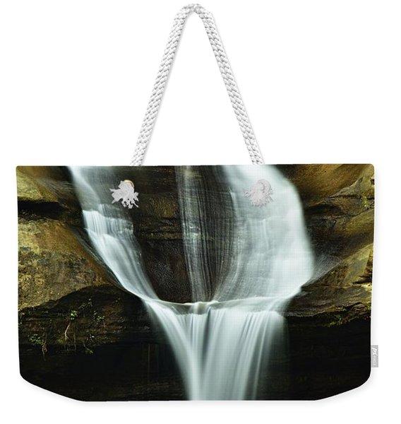 Cedar Falls Closeup Weekender Tote Bag